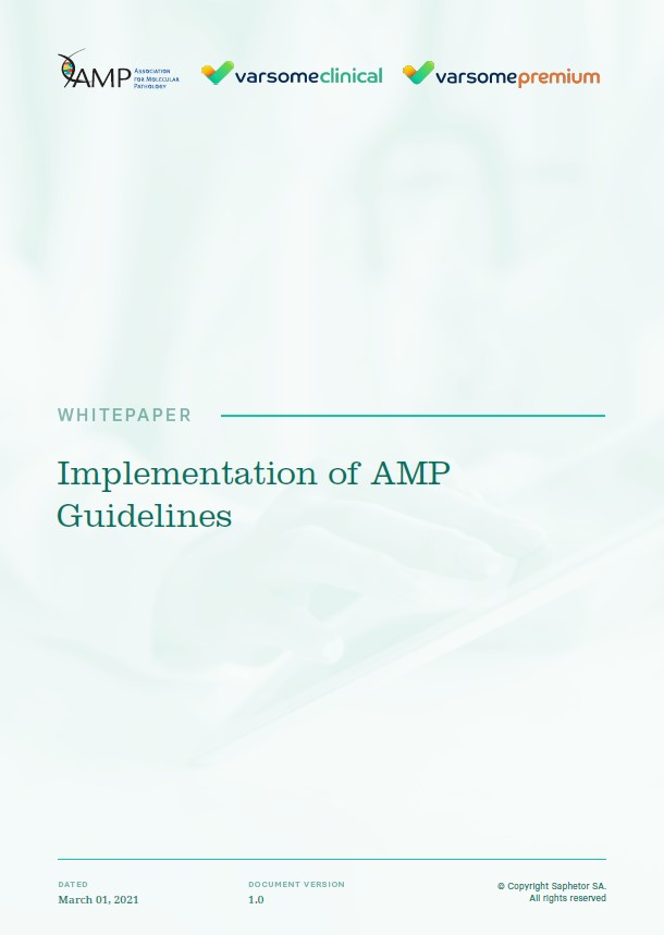 Implementation of AMP Guidelines