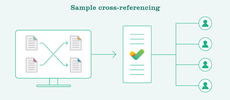Data cross-referencing
